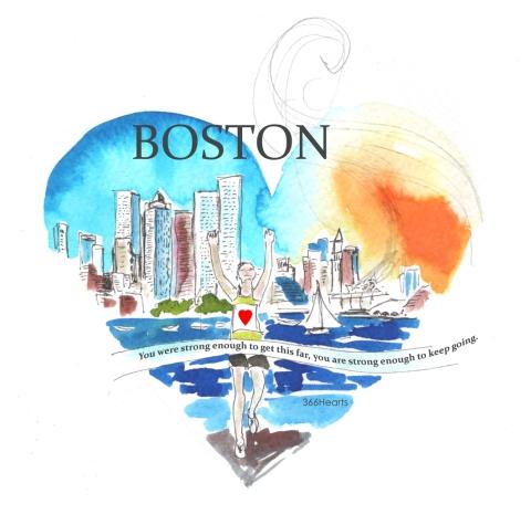 Boston's heart